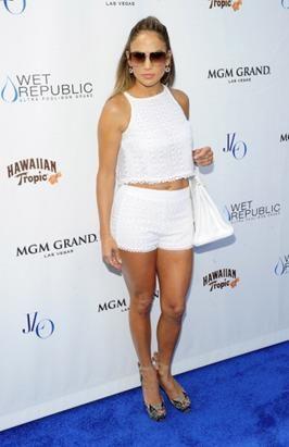 Jennifer Lopez 8 18 12 Party celebrating World Tour