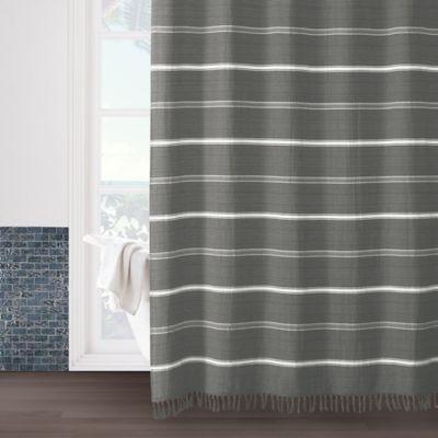 Naomi 72 X 84 Shower Curtain In Grey 96 Inch Shower Curtain
