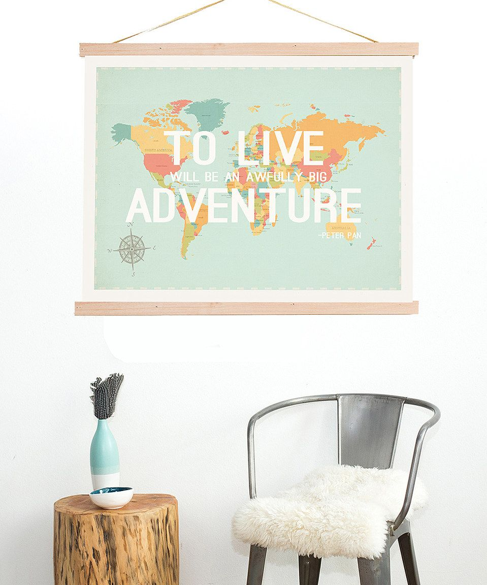 Look what i found on zulily ubig adventureu print u frame kit by