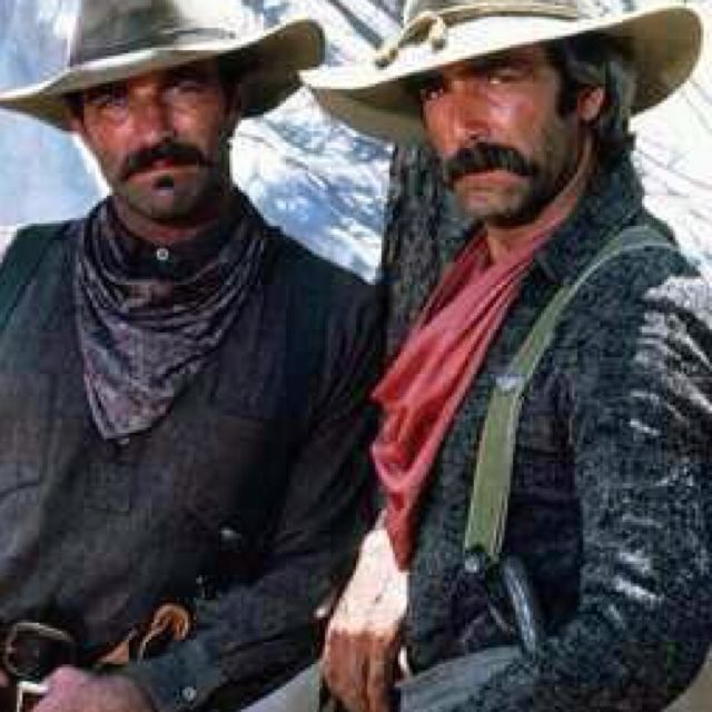 7843faf5d Tom Selleck & #Sam Elliot- ... Cowboys Extraordinaire...#Movie-stars ...