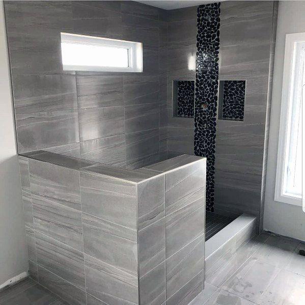 gray bathroom tile ideas fresh top 60 best grey bathroom