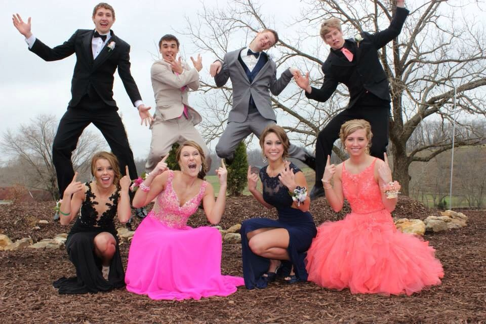 773dce2b8f6 Silly Prom Pose