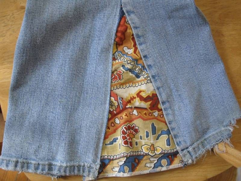 how to make bell bottom pants from scratch