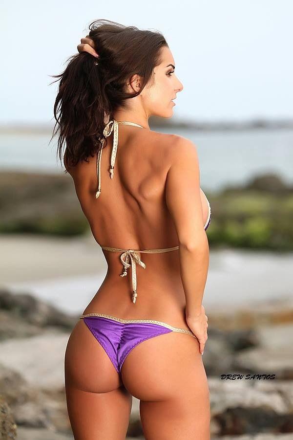 Sexy Arsch Mädchen in Bikinis