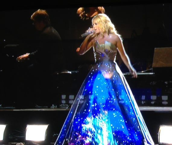 Carrie Underwood Grammy Awards 2013