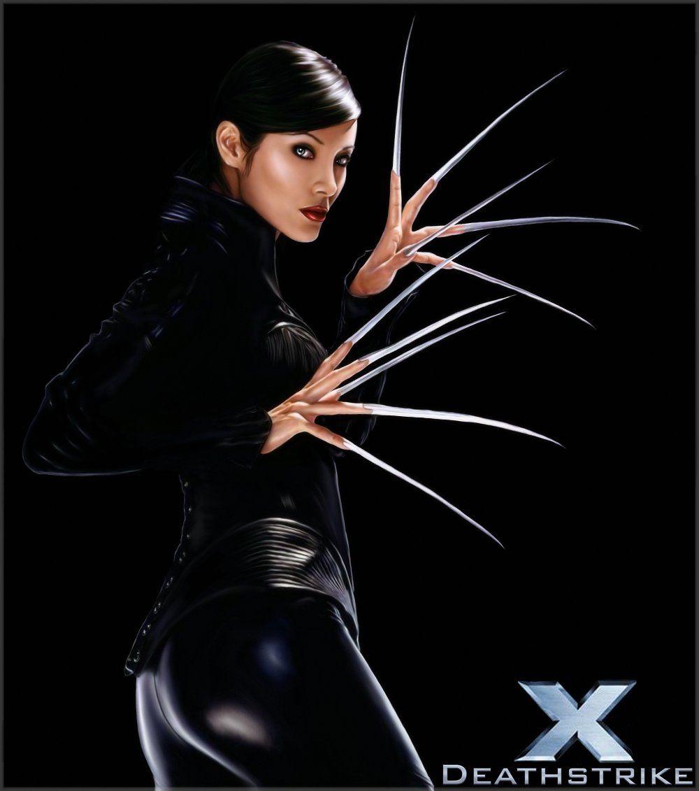 Kelly Hu (X-Men 2)(Signed at Big Apple Comic Con 10-17-09