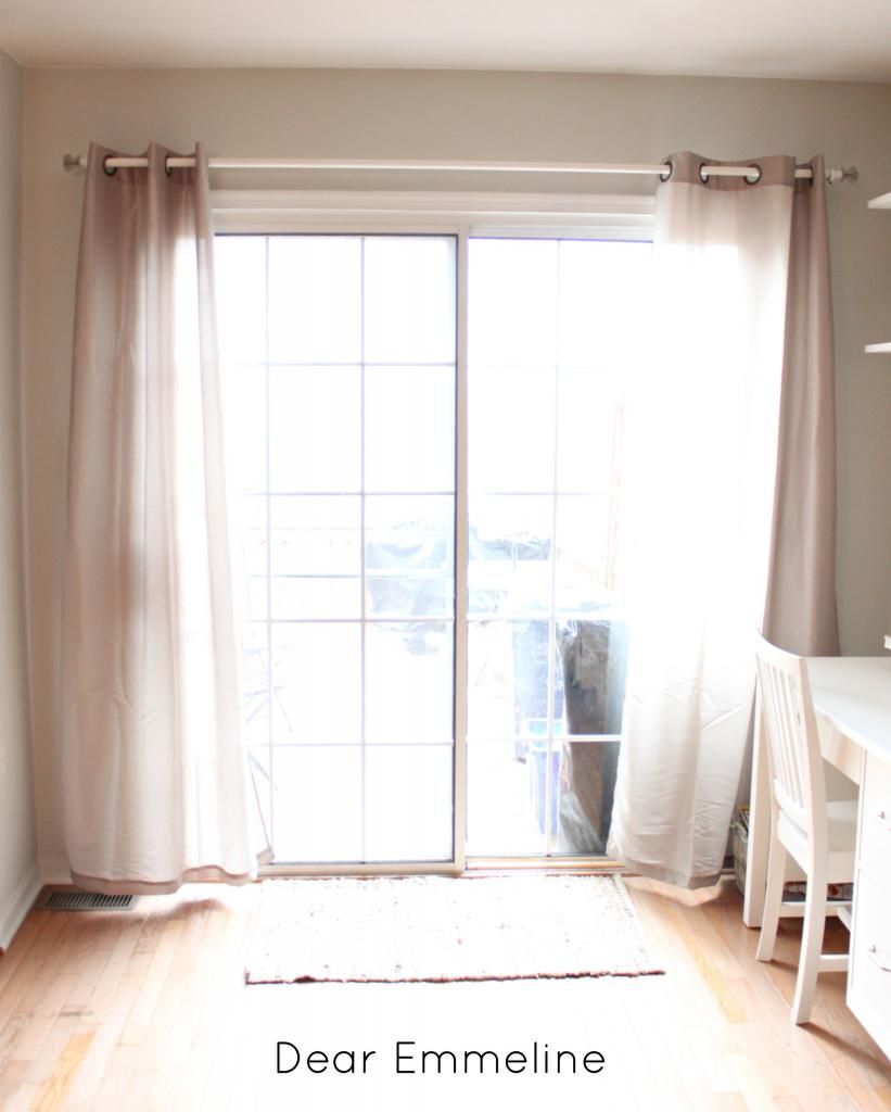 Custom Made Curtain Rod Using Electric Tube Conduit Diy Curtains