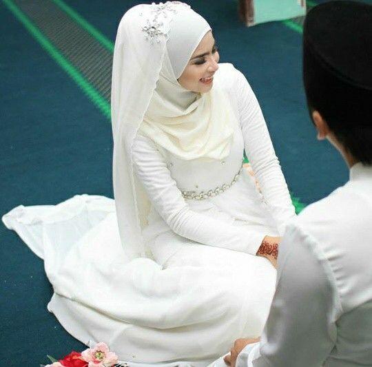 Simple Dress Baju Pengantin Renda Rajutan Perkawinan