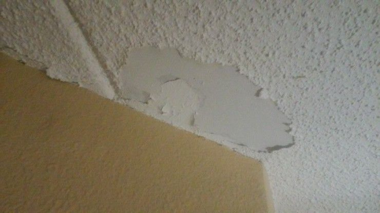 Hotel Cottage Cheese Ceiling