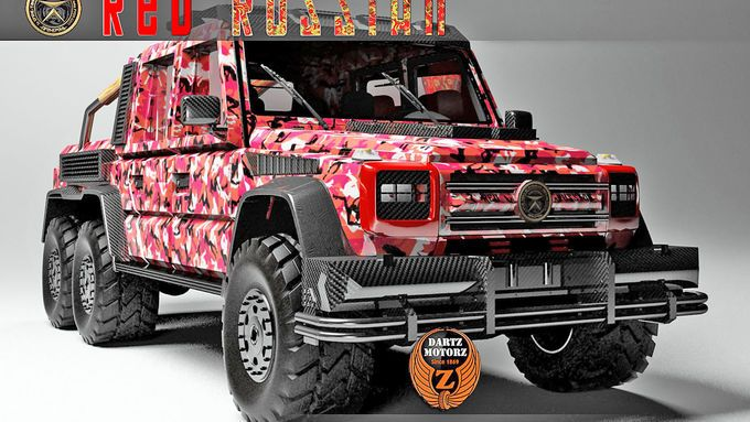 Mercedes G Amg Dartz Red Russian Martial Arts And Weapons