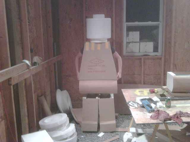 LEGO Costume - First Full Concept by gdmfl68, via Flickr