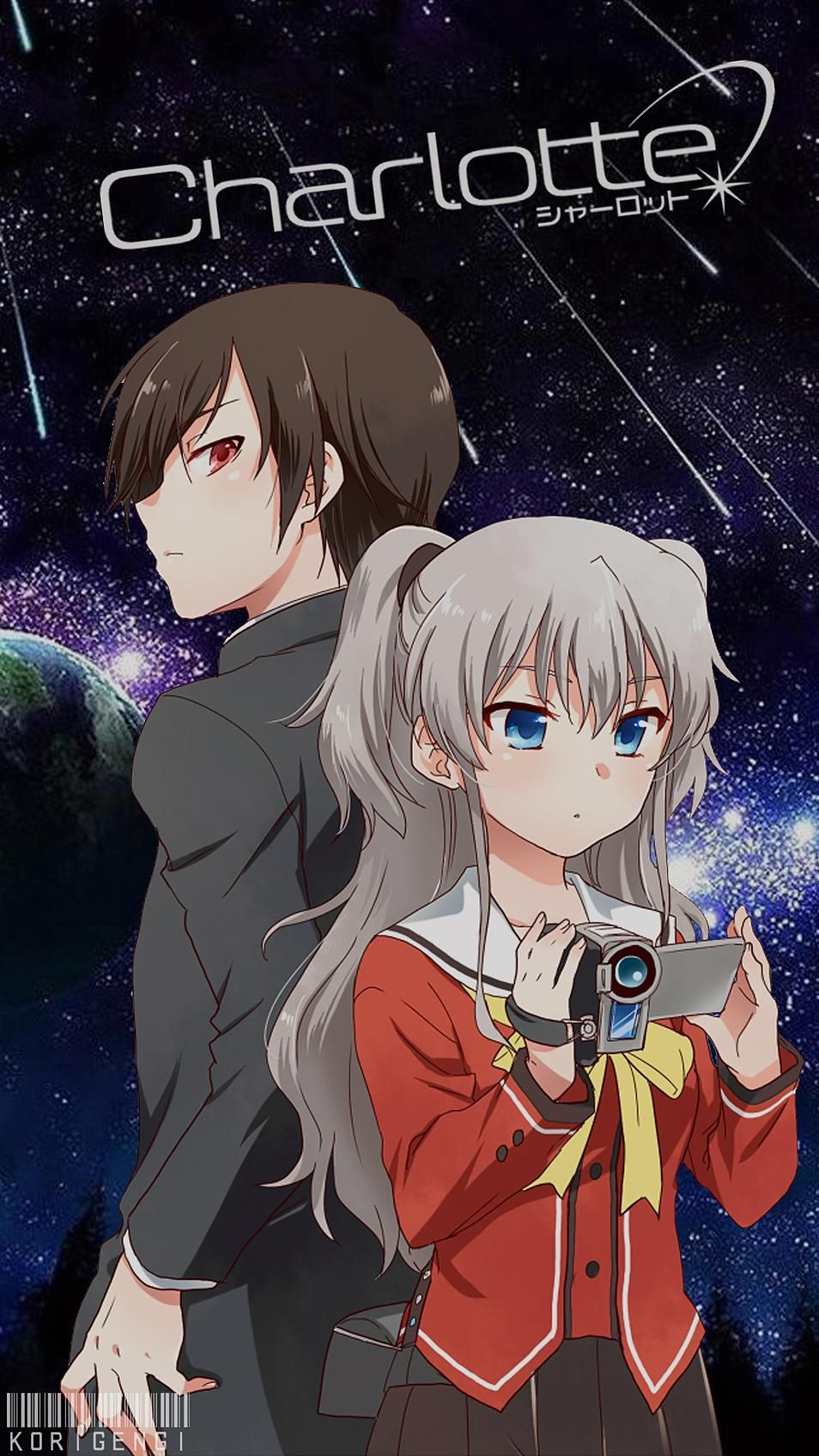 Charlotte korigengi charlotte anime anime e charlotte - Www wallpaper anime ...