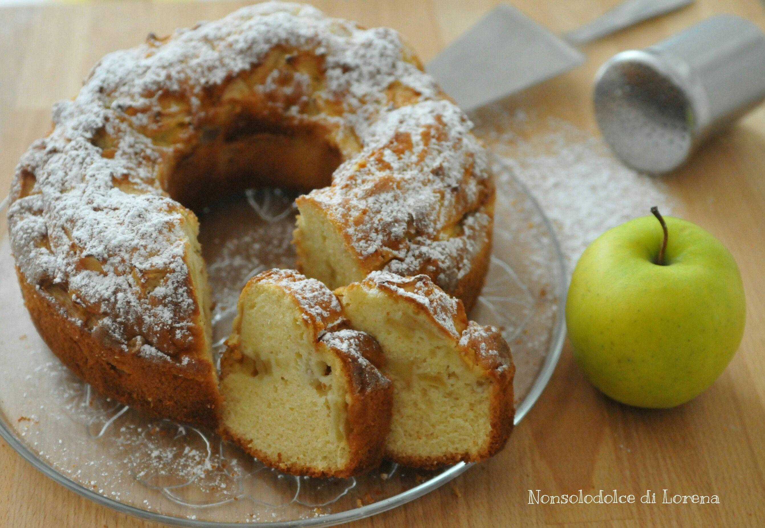 Photo of Ciambellone semplice alle mele | Nonsolodolce di Lorena