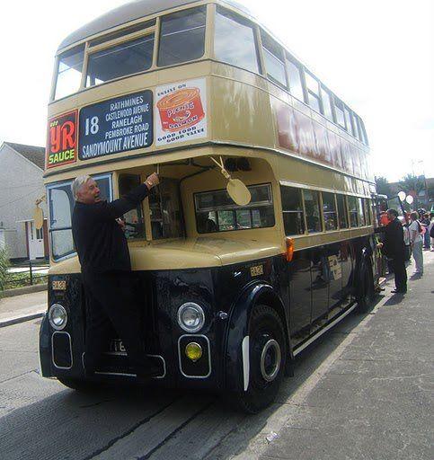 An Old Dublin Bus From The 70s Www Historicalshirts Com Dublin