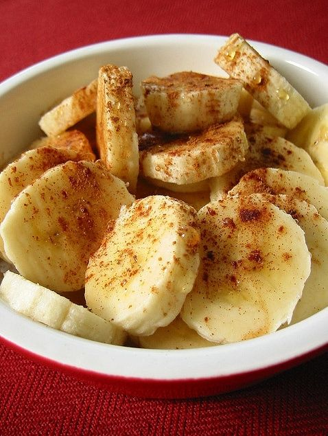 Baked Bananas With Honey Cinnamon (Dessert on the Mediterranean Diet?)