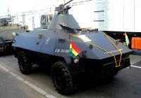 24 transportes/vehículo de exploración MOWAG Roland (empleados por la policía militar)