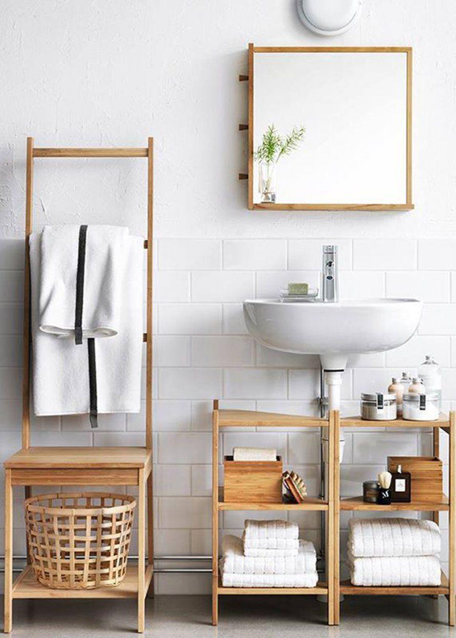 Porte Serviette Ragrund Ikea Kleines Bad Ideen Badezimmer Mobel Bader Ideen
