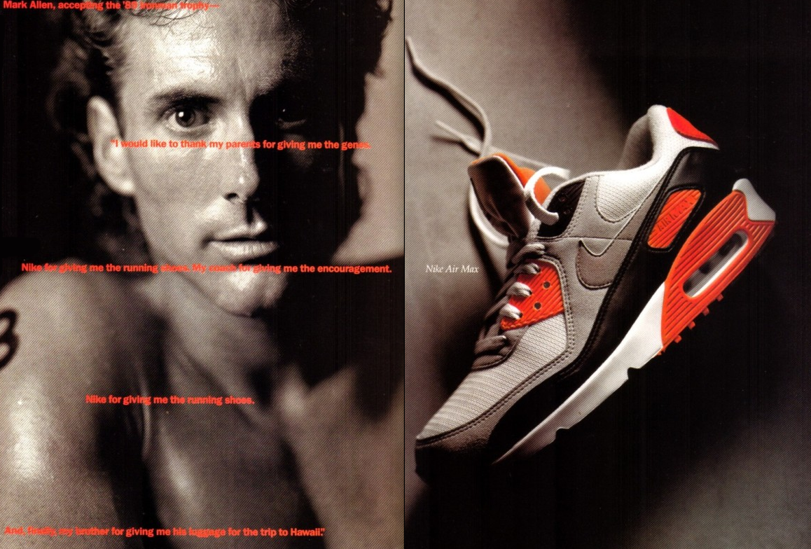 Nike Air Max Infrared Mark Allen Original 1990 | エアマックス