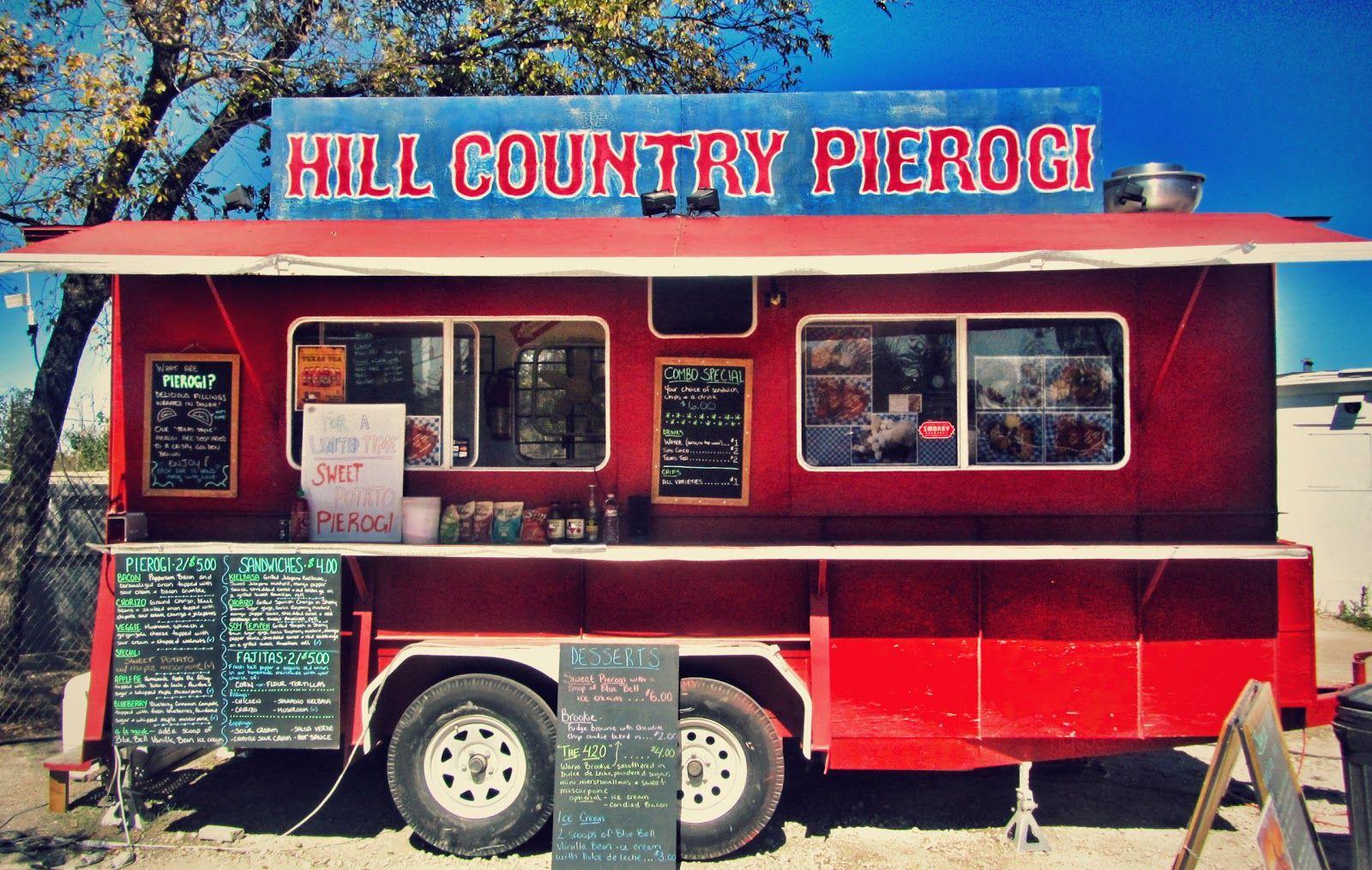 Austin food truck pierogies food
