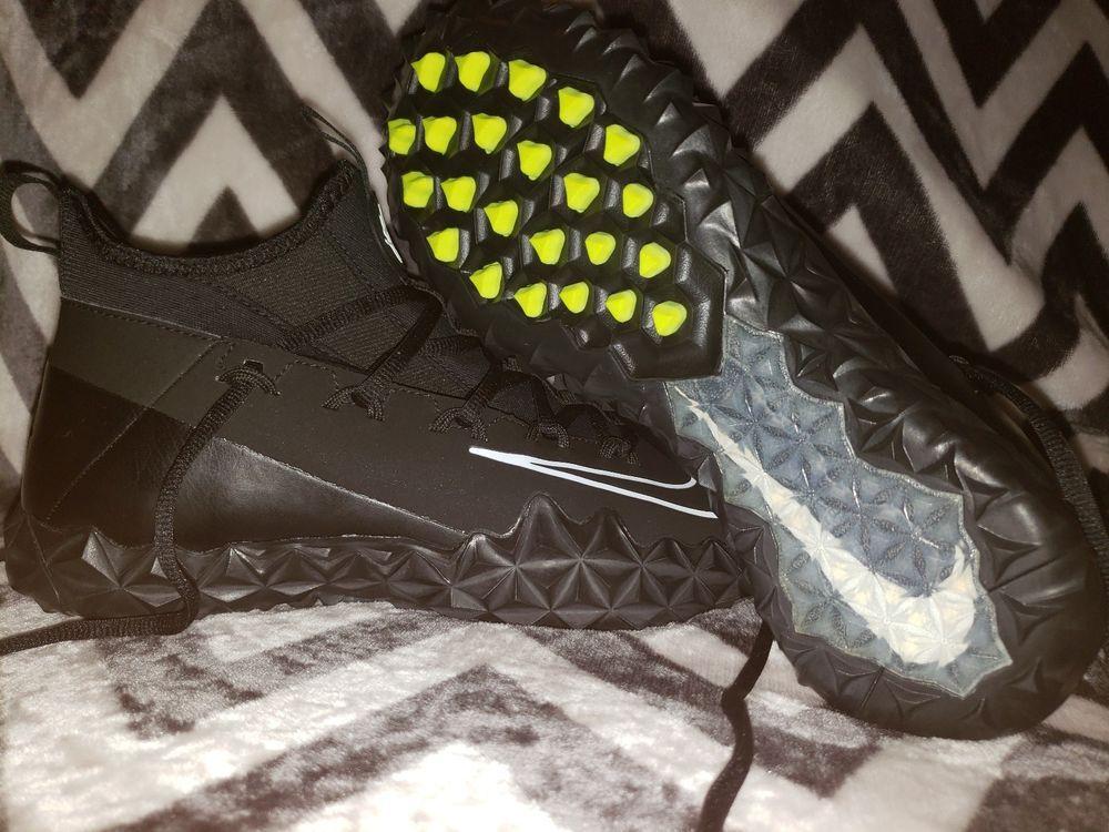 2247f316c808 NIKE Men s Alpha Huarache 6 ELT Turf Lacrosse Cleats Shoes Black SZ 8.5 New   fashion  clothing  shoes  accessories  mensshoes  athleticshoes (ebay link)