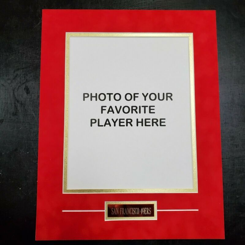 11 X 14 Photo Mat San Francisco 49ers In 2020 Photo Matting Baby Picture Frames San Francisco 49ers
