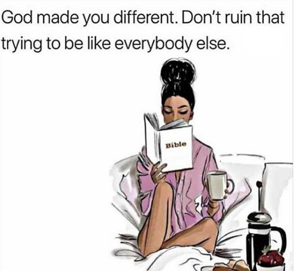 God Made You Different