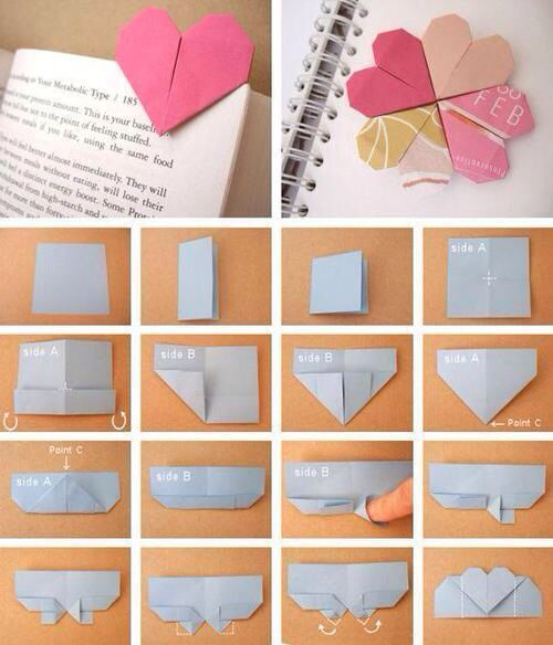 Cute little bookmark bookmark diy heart diy pinterest cute little bookmark bookmark diy heart mightylinksfo