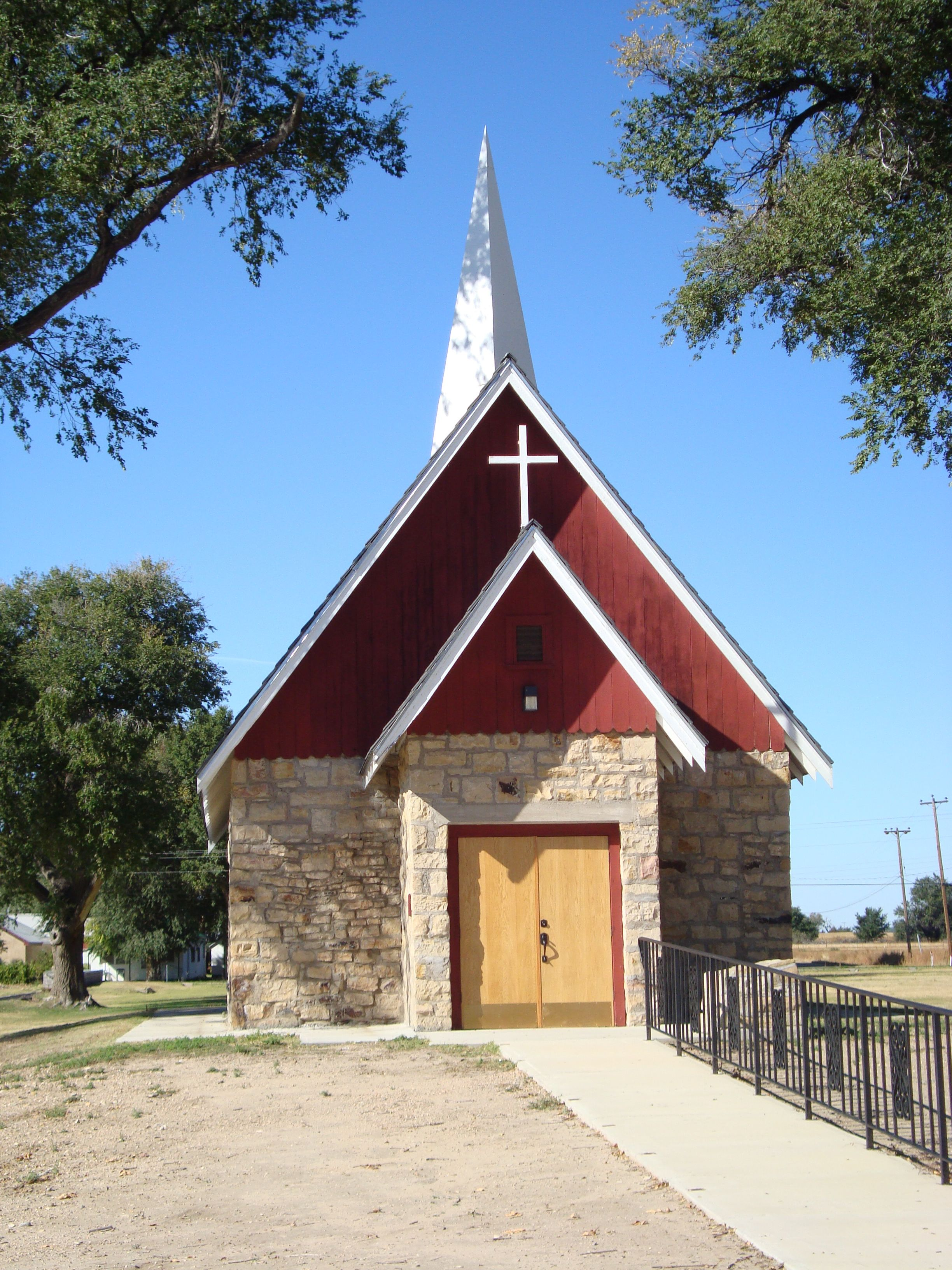 Co kit carson memorial chapel fort lyons co old
