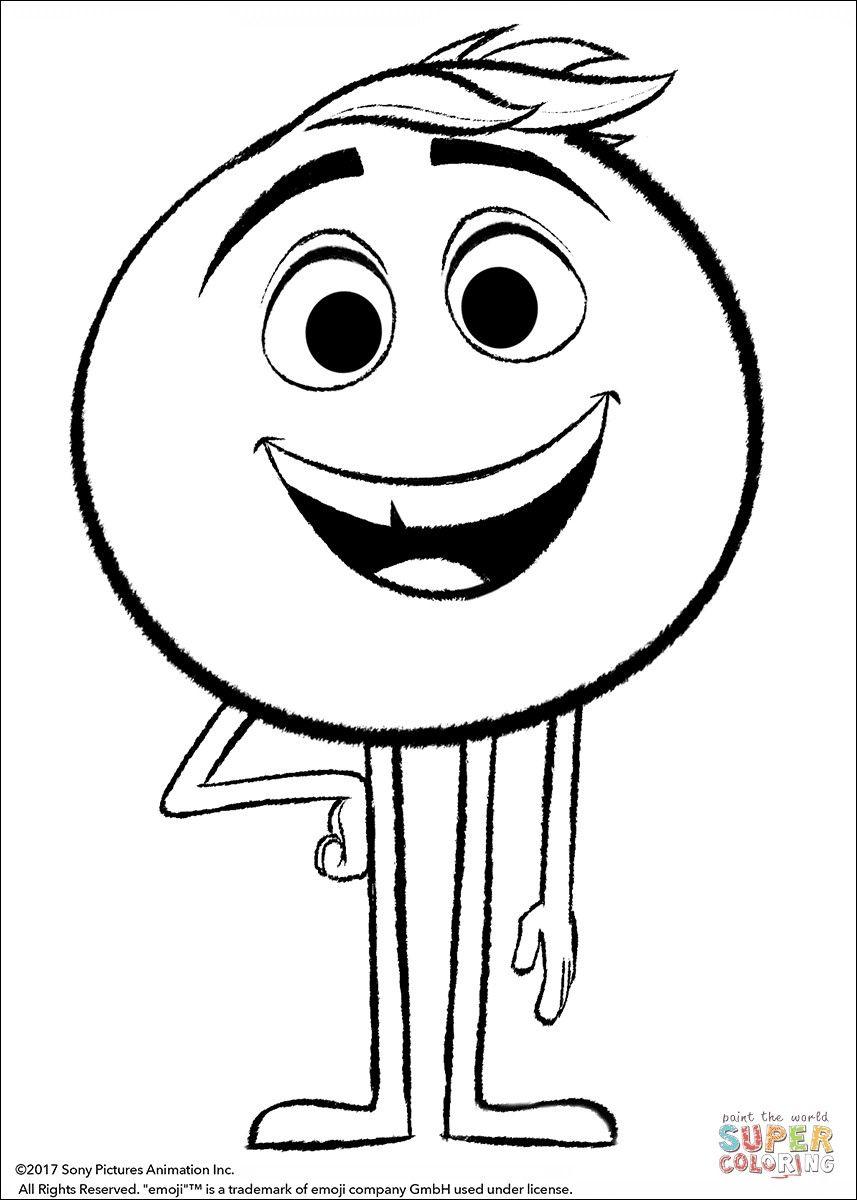 32 Conventionnellement Coloriage Emoji à Imprimer Pics   Coloriage ...