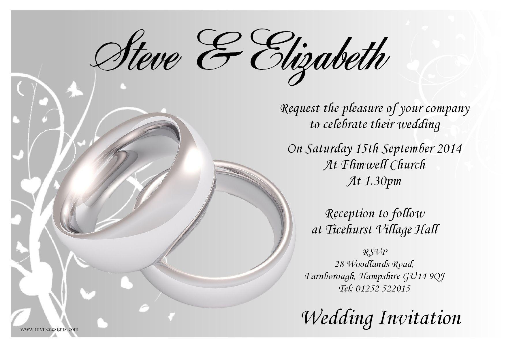 Wedding Invitation Templates Erflywedding Beach