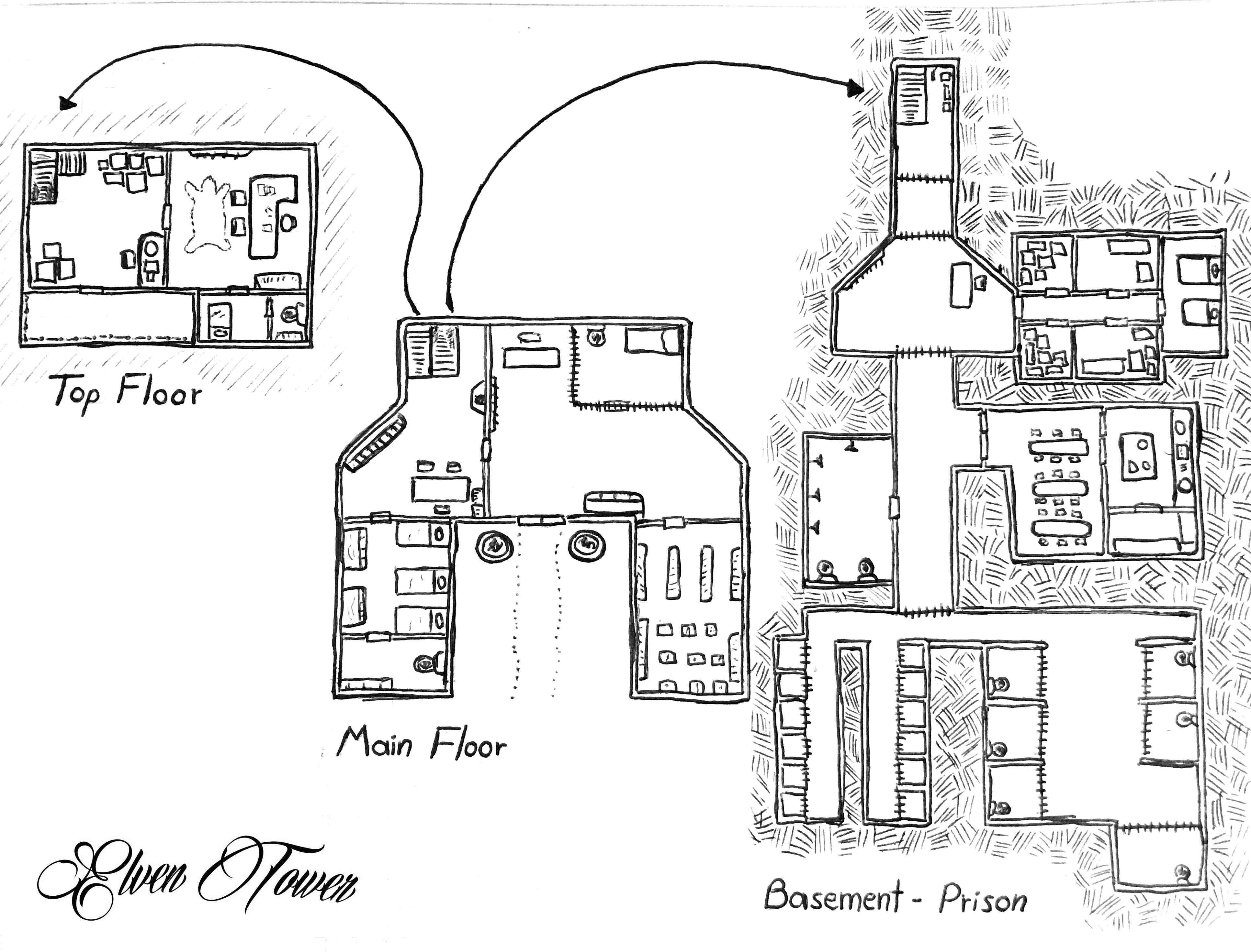 Prison Break Map
