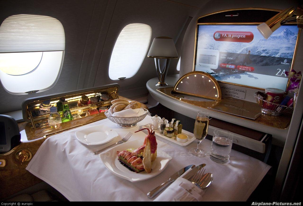 Airbus A380 First Class Emirates A380 First Class