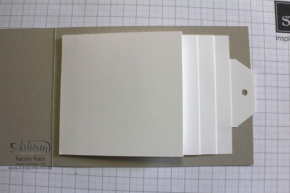 Anleitung zum Wasserfall-MiniAlbum Mini album tutorial, Tutorials