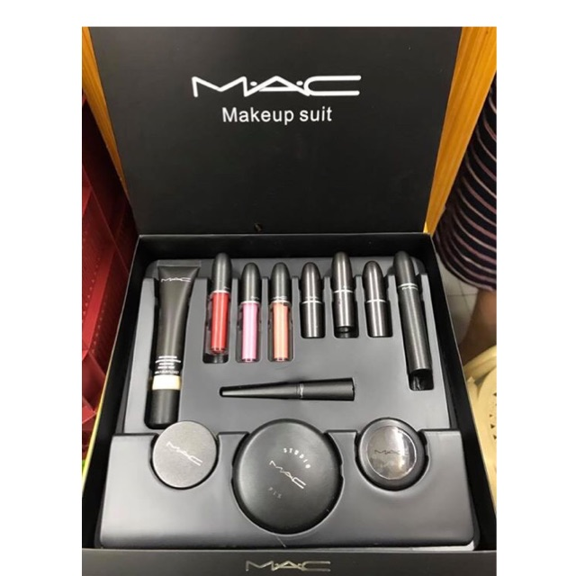 Mac Gift Set Shopee Philippines In 2020 Mac Gifts Mac Gift Sets Gift Set