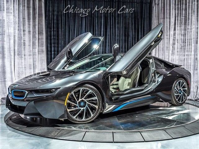 Great 2016 Bmw I8 Coupe 2016 Bmw I8 Coupe Sophisto Gray Metallic W