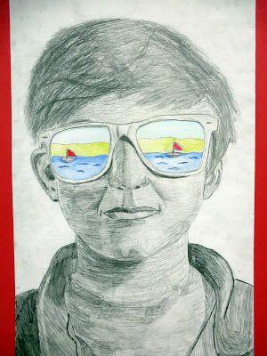 Summer Sunglasses Portrait Lesson The Calvert Canvas