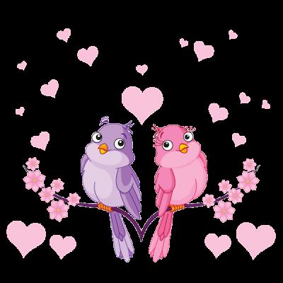 Love Bird S Cartoon Bird Clip Art Dibujos De Pajaro Pajaros Animados Clipart
