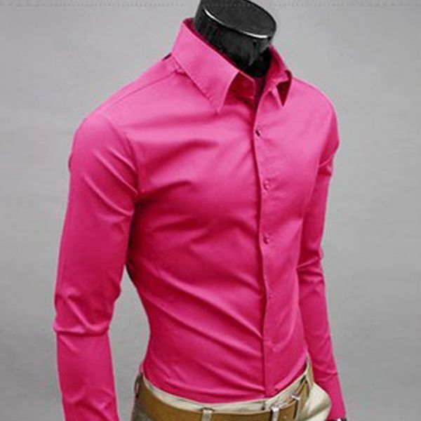 Pink Formal Men Shirt | Formal | Pinterest | Men shirts