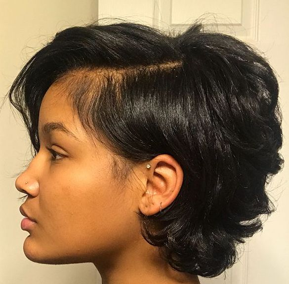 Mid Point Hair Style Natural Hair Styles Short Natural Hair Styles Relaxed Hair