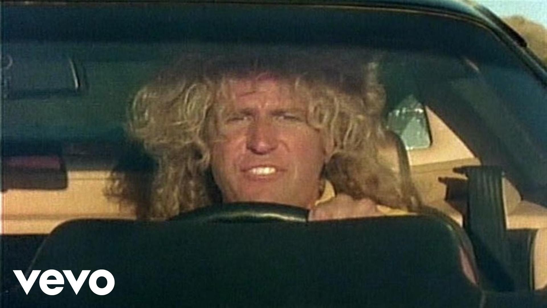 Music Video By Sammy Hagar Performing I Can T Drive 55 C 1984 Geffen Records Sammy Hagar Youtube Videos Music