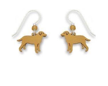 Sienna Sky Max Yellow Labrador Retriever Dog Earrings 1458 Jewelry 23 98