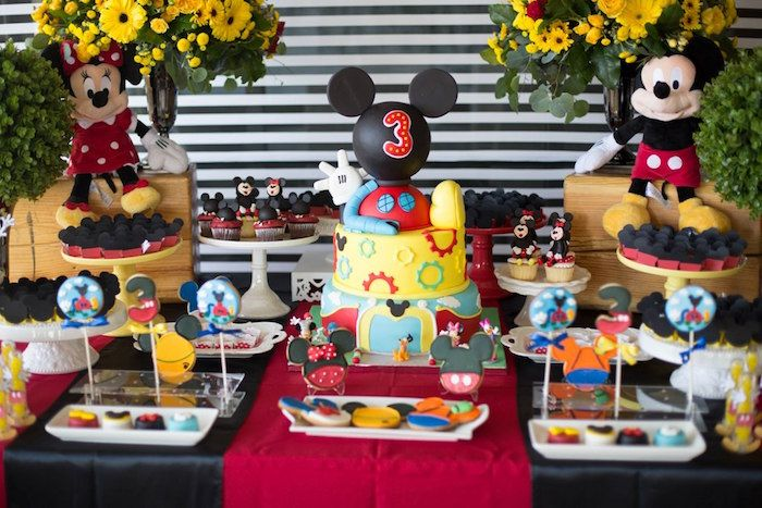 Mickey Mouse Clubhouse Birthday Party | Mickey mouse clubhouse ...