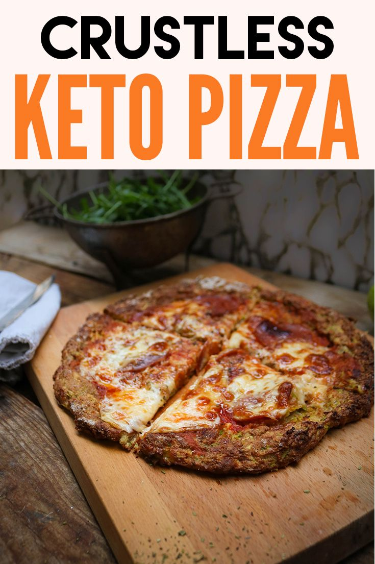 Crustless Keto Pizza