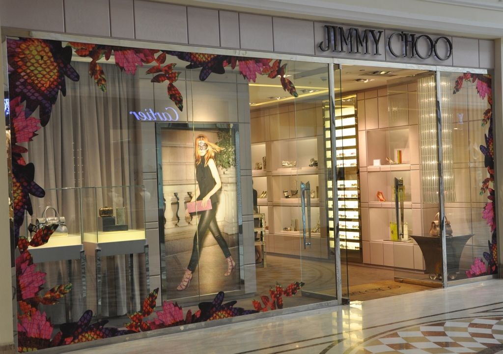 84a30283e2ed Jimmy Choo store at DLF Emporio