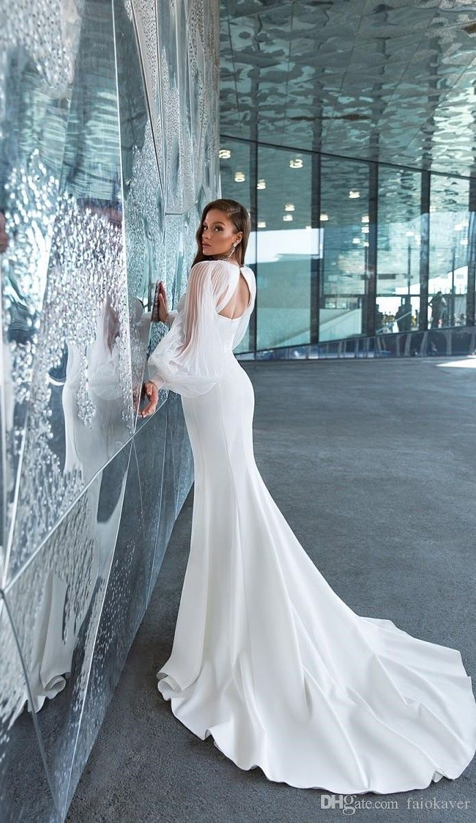 Crystal Design 2020 Satin Wedding Dresses With Long Sleeve Spaghetti Mermaid #grecianweddingdresses Crystal Design 2020 Satin Wedding Dresses With Long Sleeve Spaghetti Mermaid #weddingdresses #weddingdresseslace #dreamweddingdresses #bridalgowns #weddingdressinspiration #sheerdress #gorgeousgowns #weddinggowns #bridaldresses #grecianweddingdresses Crystal Design 2020 Satin Wedding Dresses With Long Sleeve Spaghetti Mermaid #grecianweddingdresses Crystal Design 2020 Satin Wedding Dresses With Lo #grecianweddingdresses