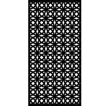 Sichtschutz und Wanddekoelement Orbit Kunststoff 90 x 180