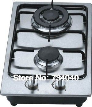 2 Burner Kitchen Gas Cooker Gas Cooktop Built In Cooktop Stainless Steel Cooktop Gas Stove Gas Hob Kitchen Appli Stainless Steel Cooktop Gas Cooktop Gas Cooker