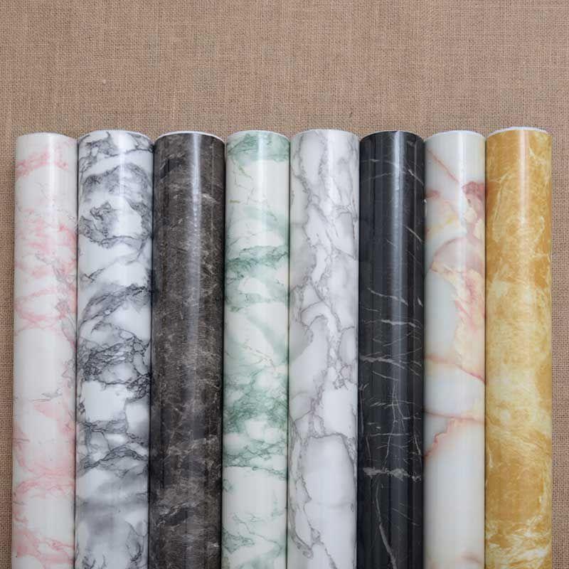Thickening Marble Adhesive Hearth Windowsill Paint Ambry Ark Table Furniture Refurbished Sticker Paper Wate Marble Adhesive Paper Sticker Paper Vinyl Wallpaper