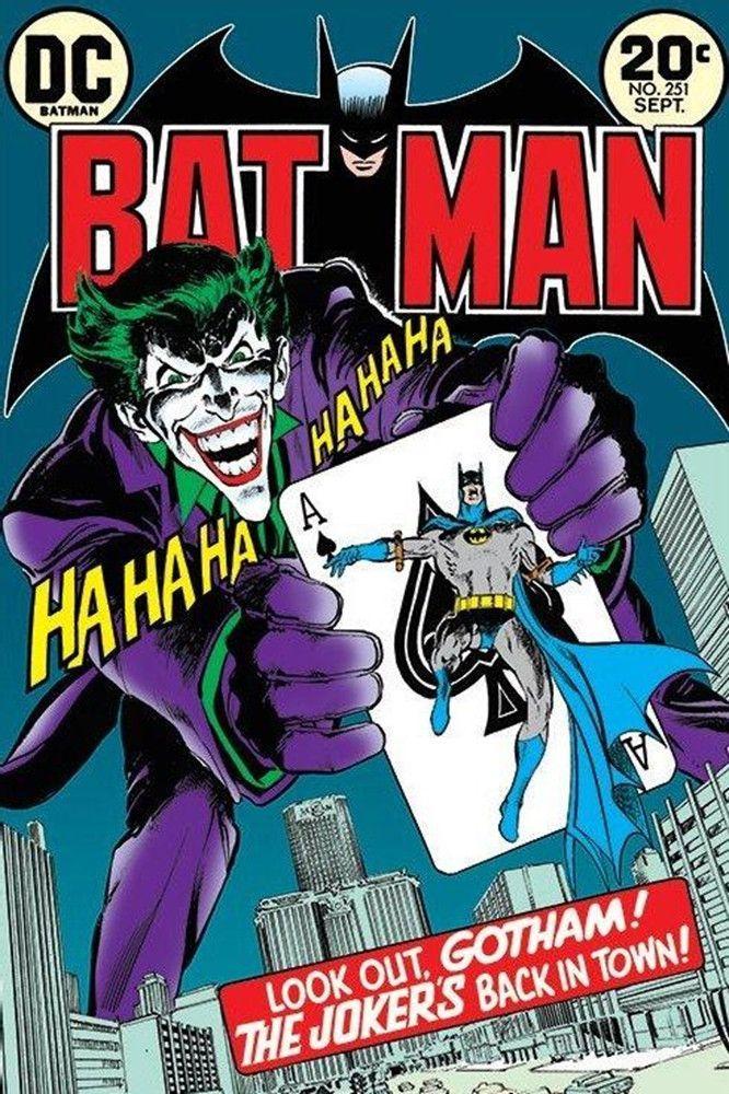 Batman Joker S Back Comic Poster Joker Comic Book Batman Comic Cover Batman Comic Books