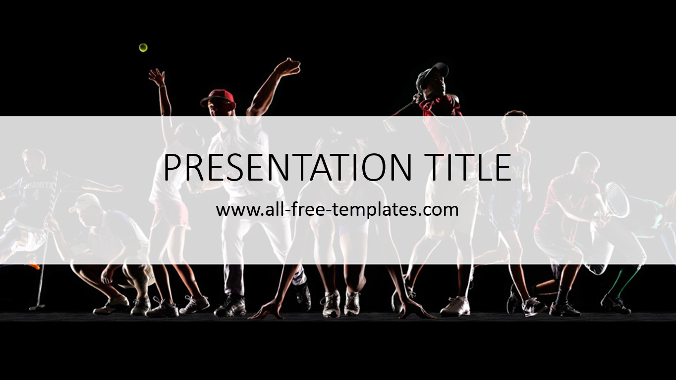 Sports Powerpoint Template Is Free Template With Amazing Background